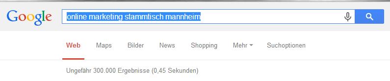 SEO Stammtisch Mannheim Heidelberg