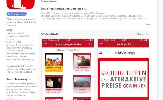 MVV Mobile App