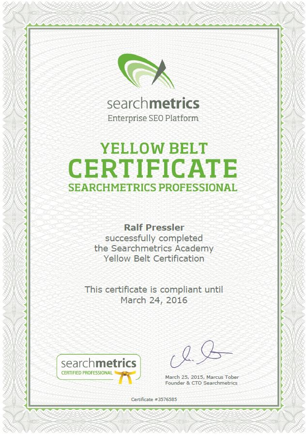 YellowBelt-searchmetrics